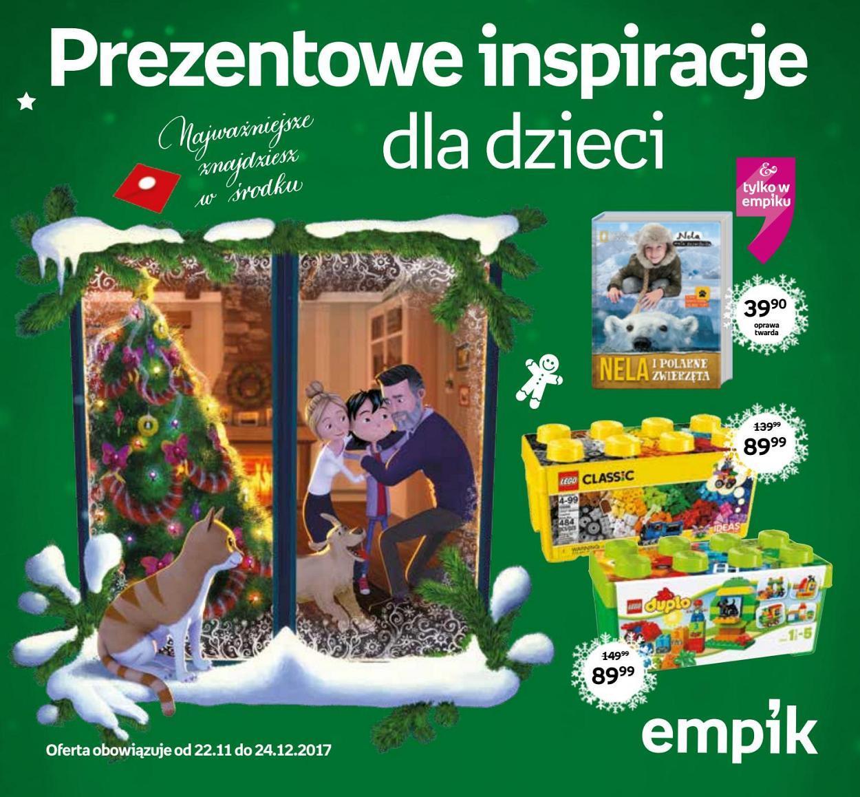 Gazetka promocyjna empik do 24/12/2017 str.0