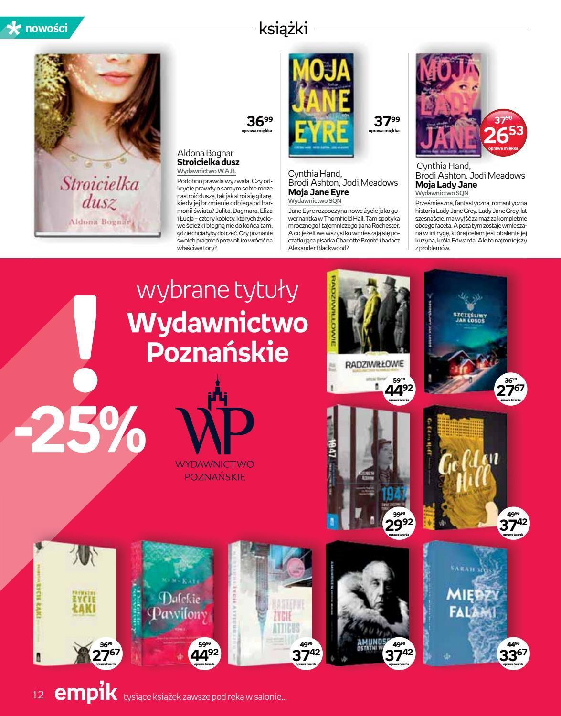Gazetka promocyjna empik do 04/09/2018 str.12