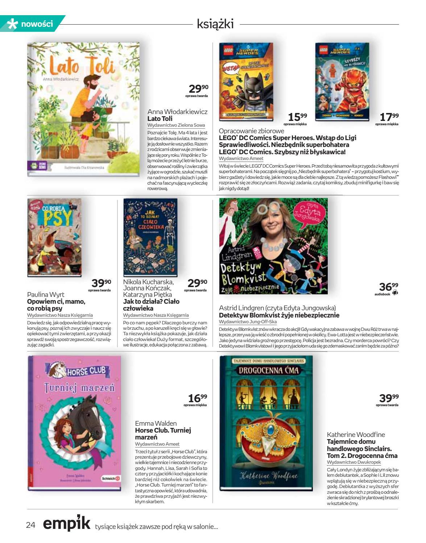 Gazetka promocyjna empik do 03/07/2018 str.23