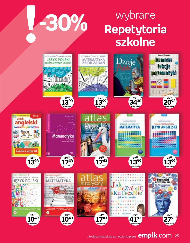 Gazetka promocyjna empik do 04/09/2018 str.25