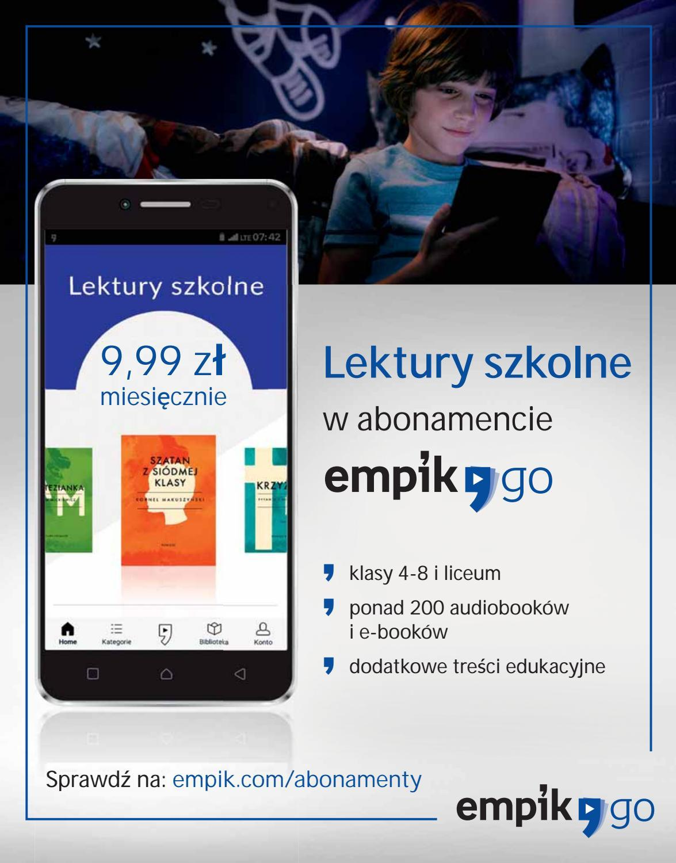 Gazetka promocyjna empik do 18/09/2018 str.72