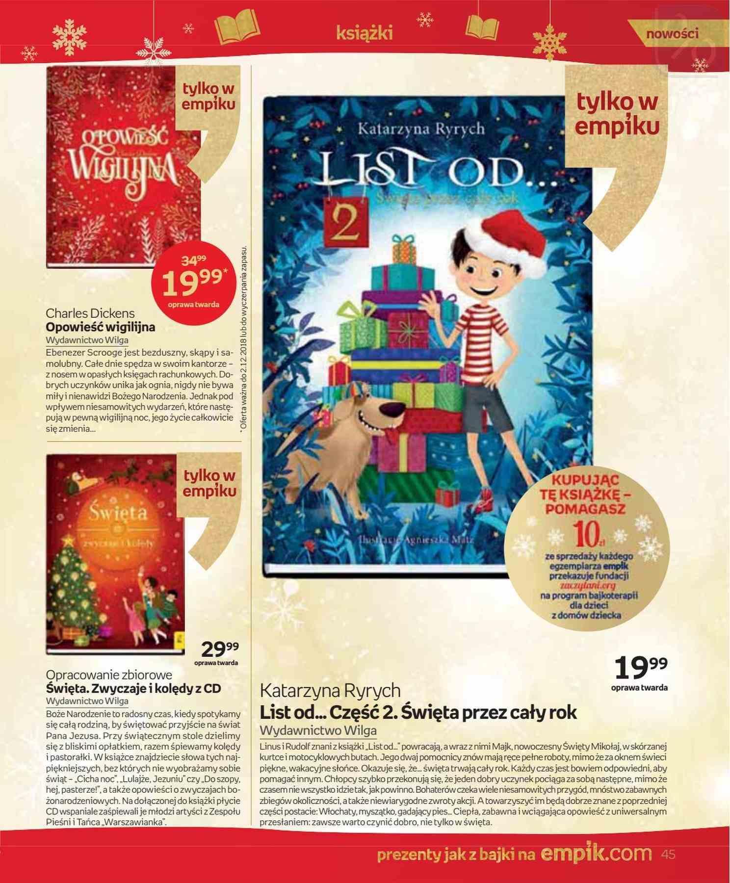 Gazetka promocyjna empik do 24/12/2018 str.45