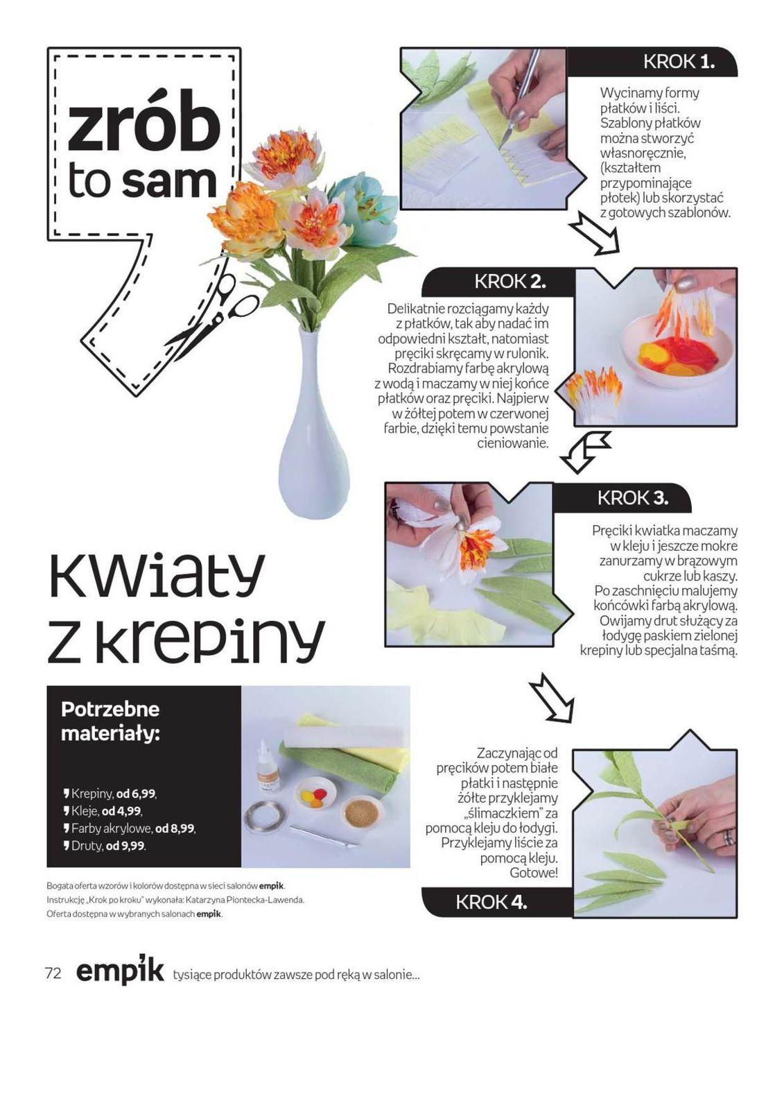 Gazetka Promocyjna I Reklamowa Empik Od 30 03 2016 Do 12 04 2016