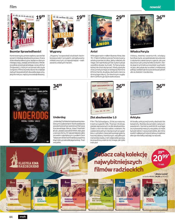 Gazetka promocyjna empik do 18/06/2019 str.44