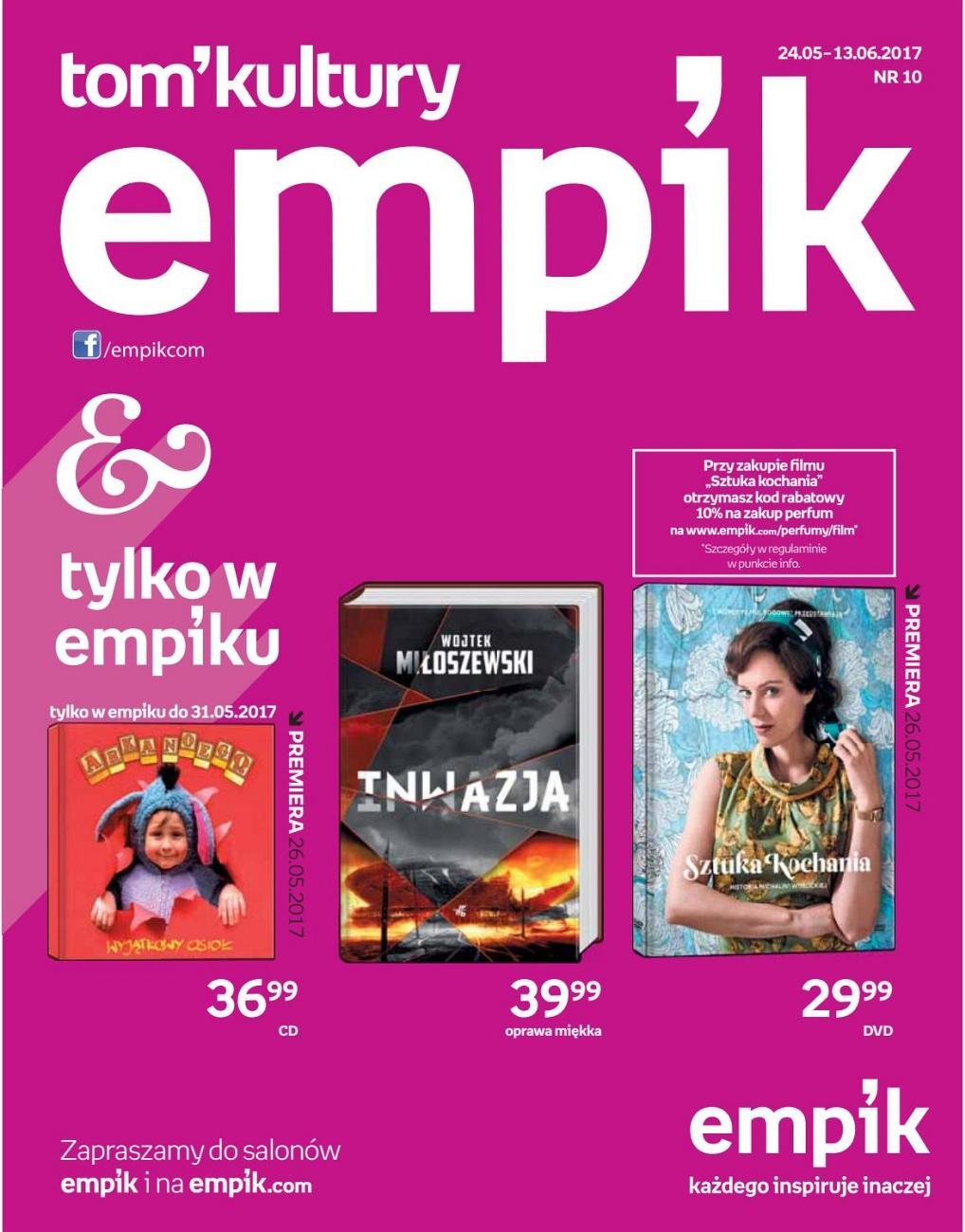 Gazetka promocyjna empik do 13/06/2017 str.0