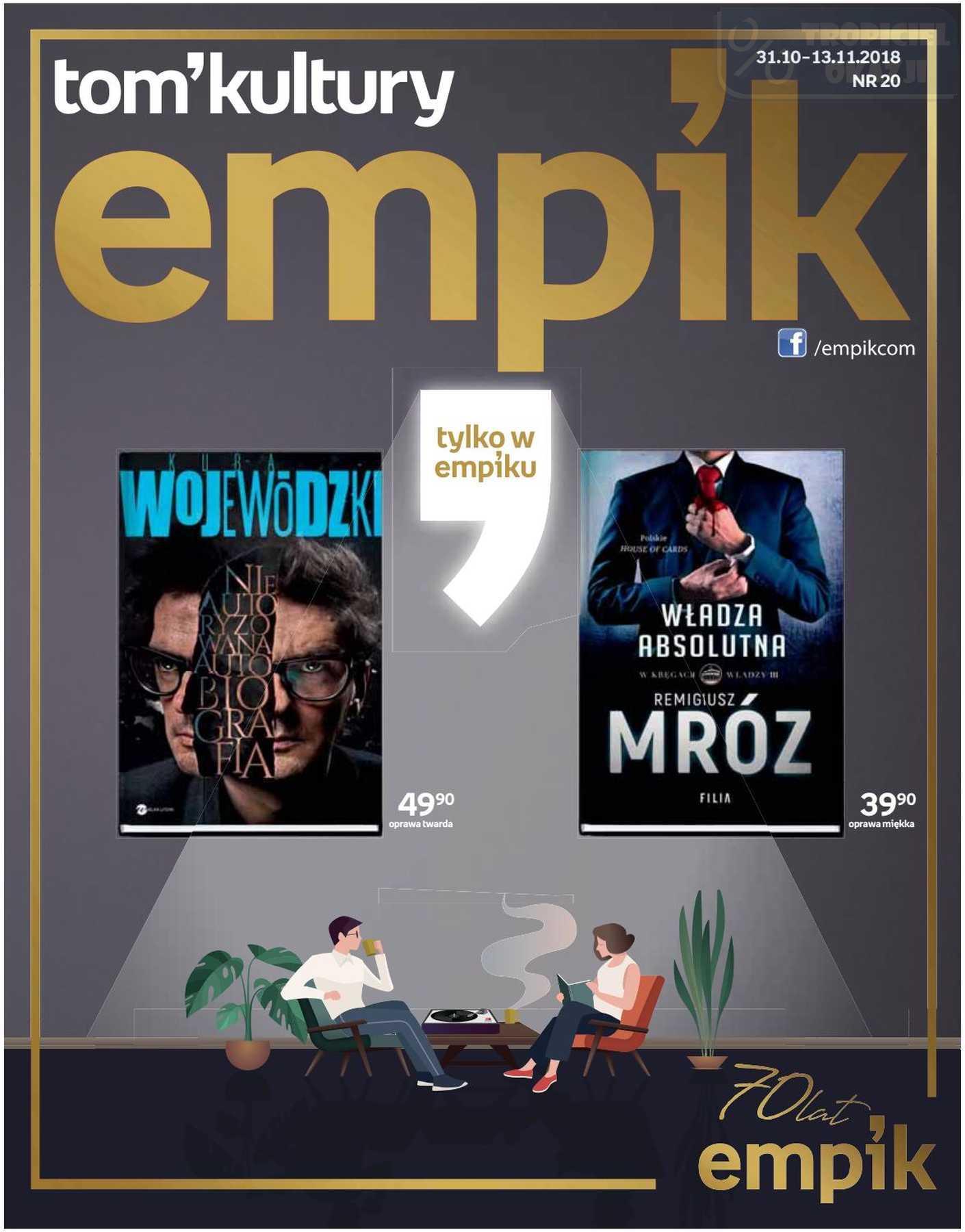 Gazetka promocyjna empik do 13/11/2018 str.0