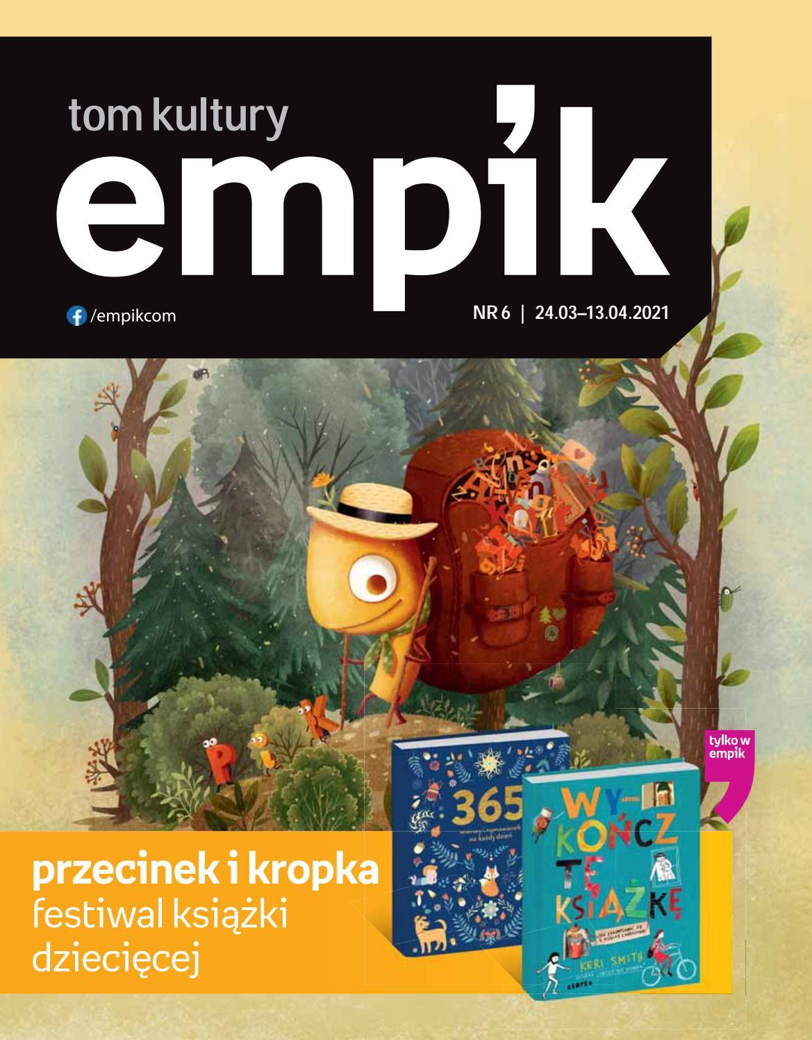 Gazetka promocyjna empik do 13/04/2021 str.1