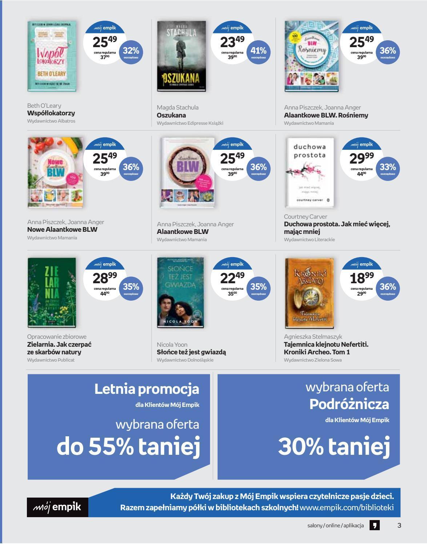 Gazetka promocyjna empik do 30/07/2019 str.3