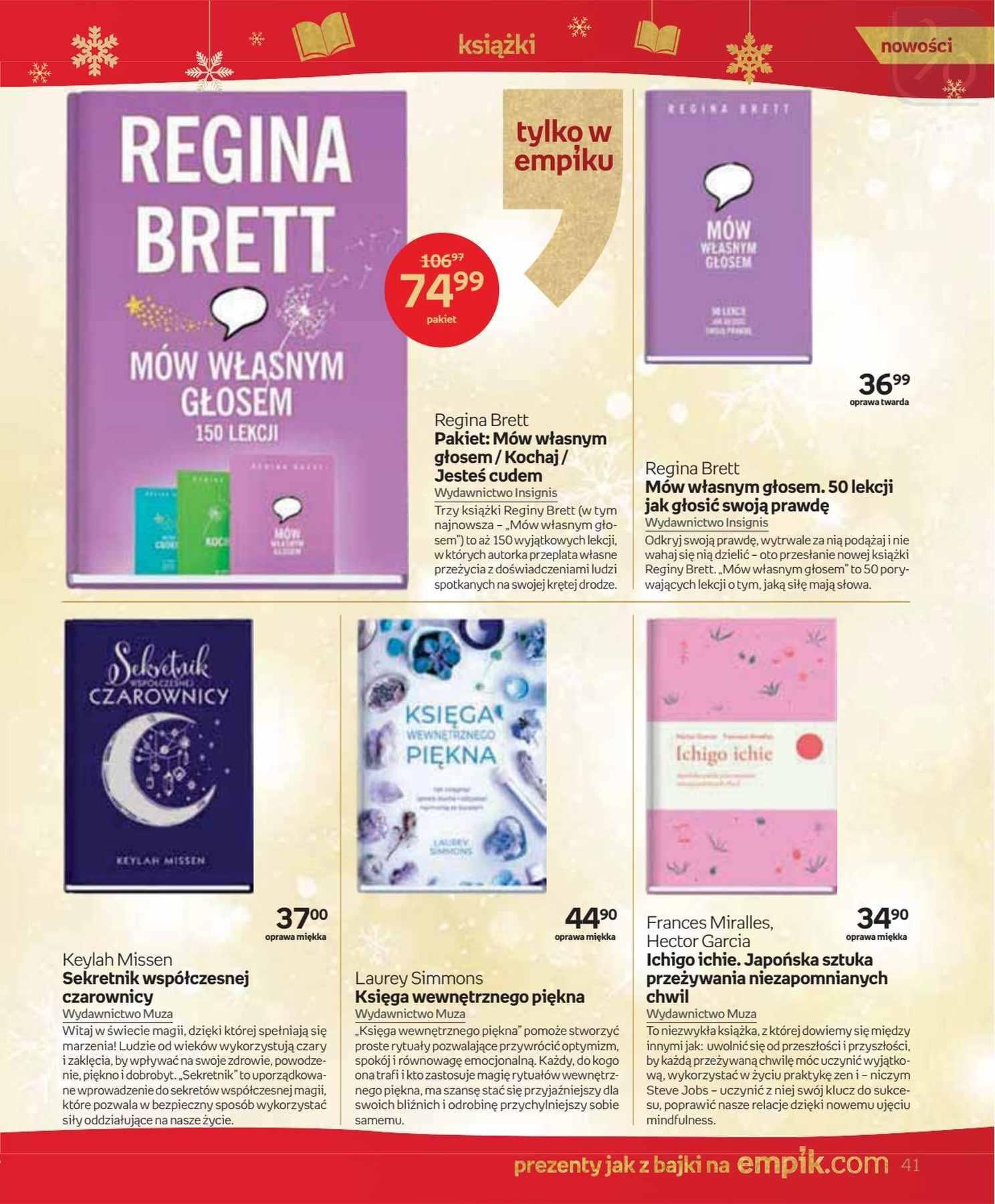 Gazetka promocyjna empik do 24/12/2018 str.41