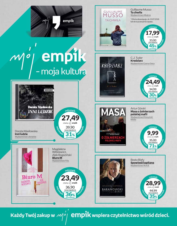 Gazetka promocyjna empik do 17/07/2018 str.4