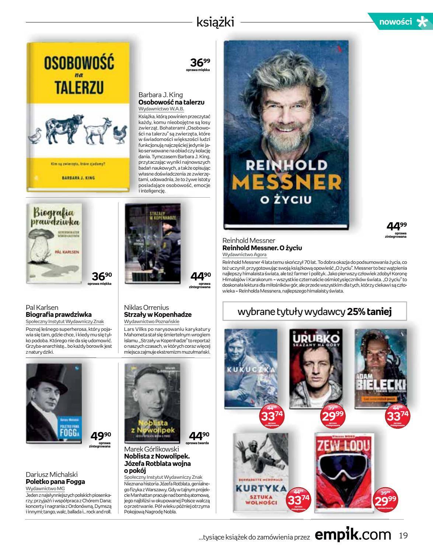 Gazetka promocyjna empik do 04/09/2018 str.19