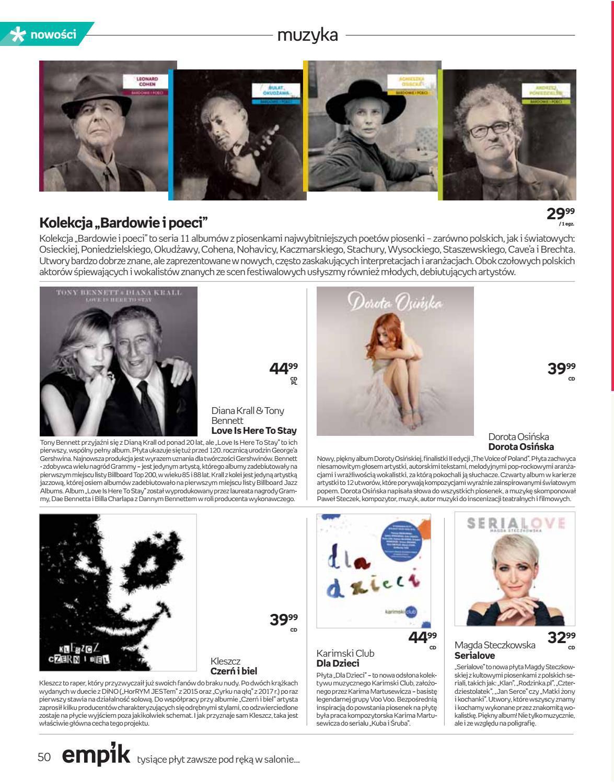 Gazetka promocyjna empik do 02/10/2018 str.49