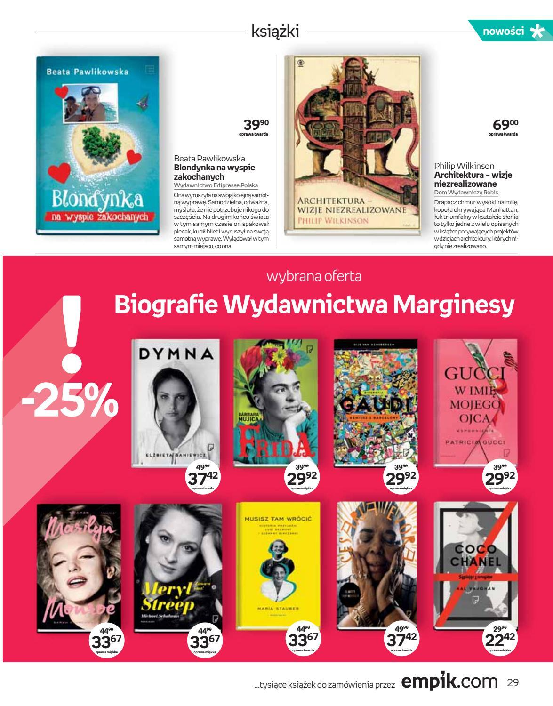 Gazetka promocyjna empik do 02/10/2018 str.28