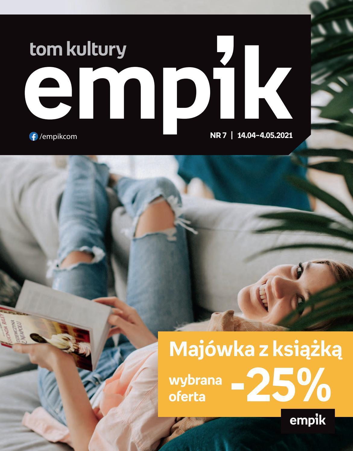 Gazetka promocyjna empik do 04/05/2021 str.1