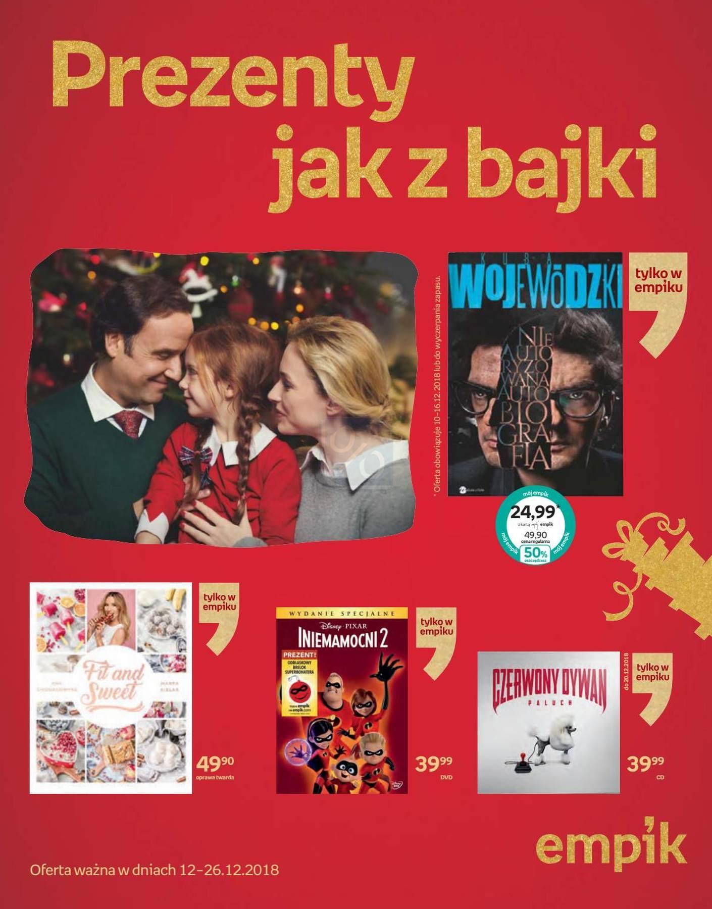 Gazetka promocyjna empik do 26/12/2018 str.0