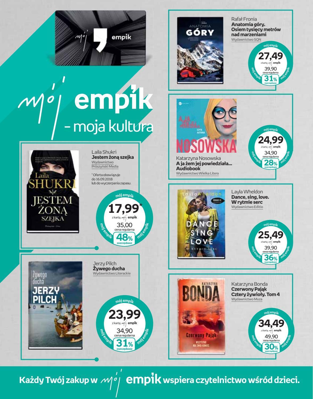 Gazetka promocyjna empik do 18/09/2018 str.4