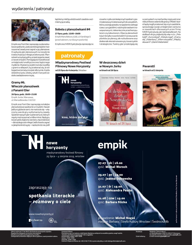 Gazetka promocyjna empik do 30/07/2019 str.62