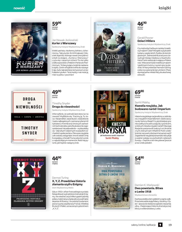 Gazetka promocyjna empik do 12/03/2019 str.19