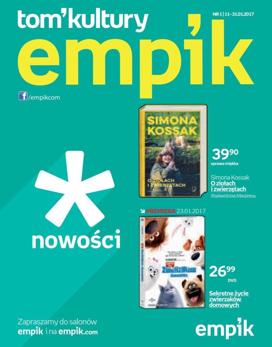 Gazetka promocyjna empik do 31/01/2017 str.0