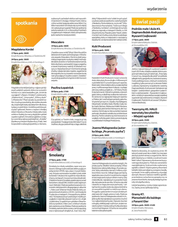 Gazetka promocyjna empik do 30/07/2019 str.61