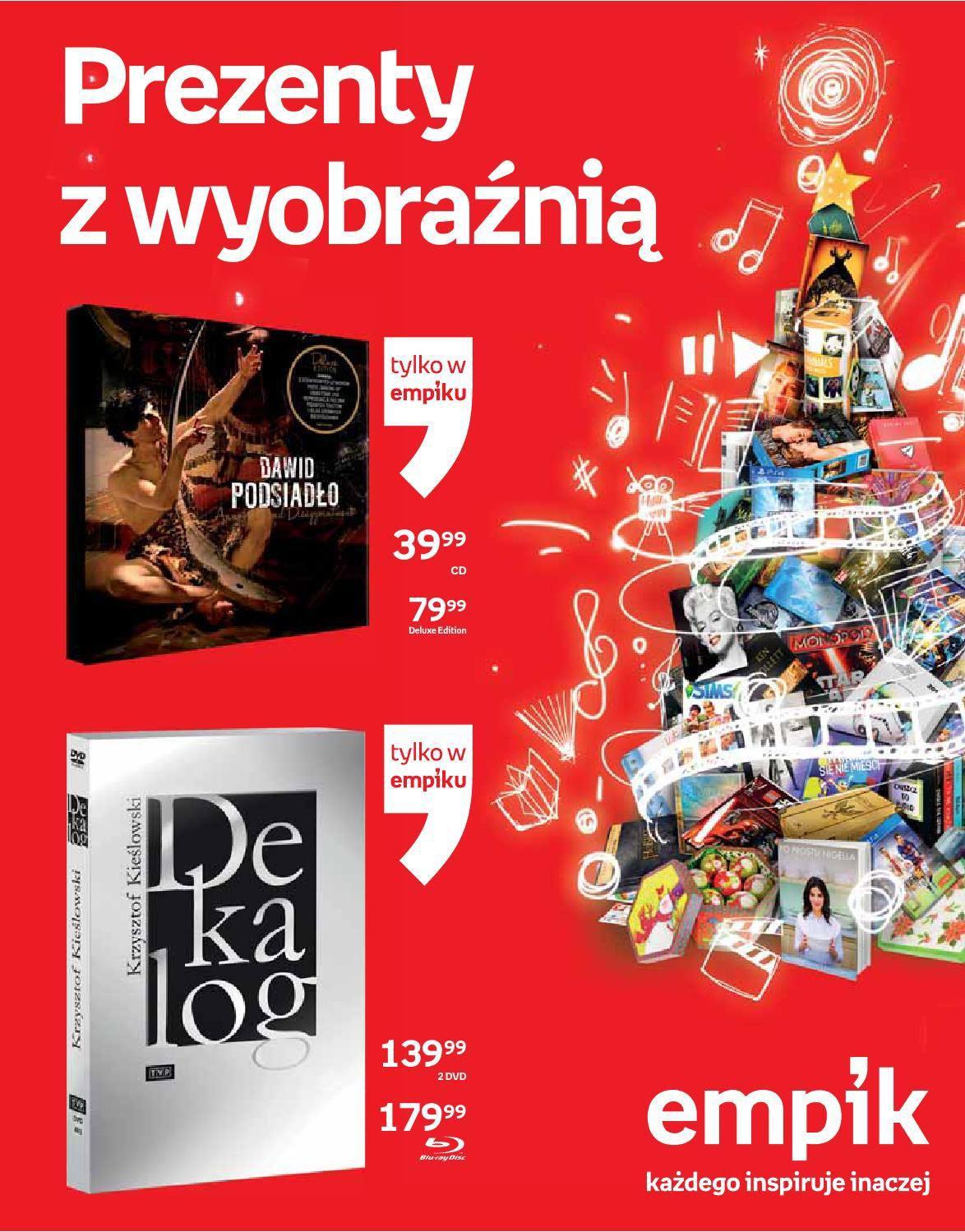Gazetka promocyjna empik do 24/12/2015 str.0