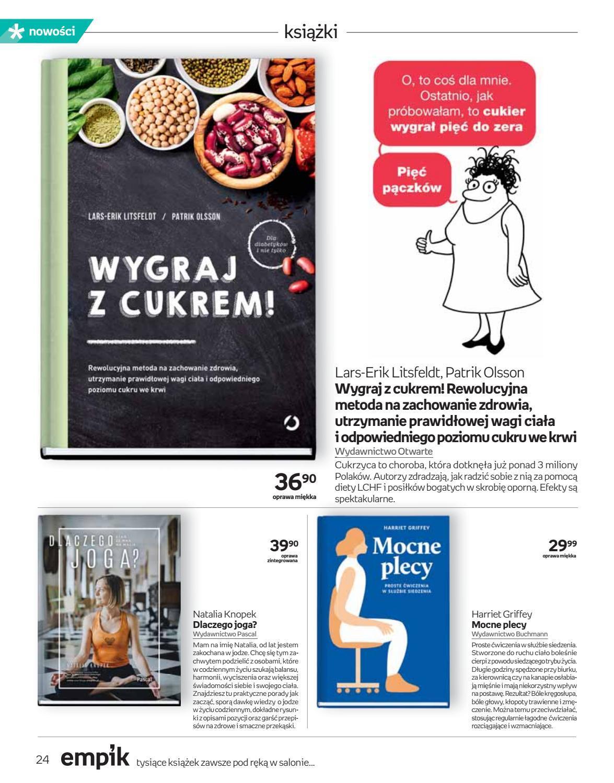 Gazetka promocyjna empik do 18/09/2018 str.24