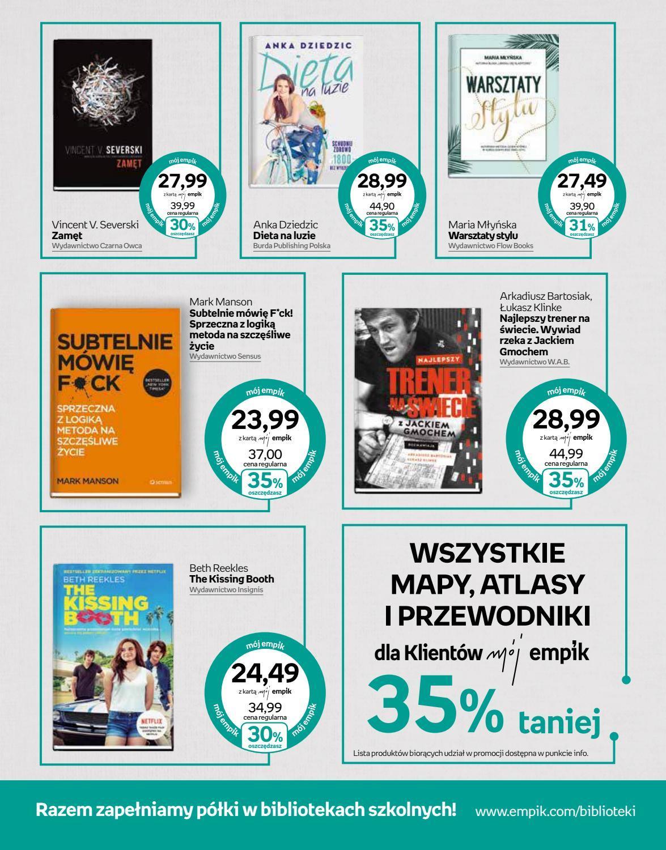 Gazetka promocyjna empik do 04/09/2018 str.2