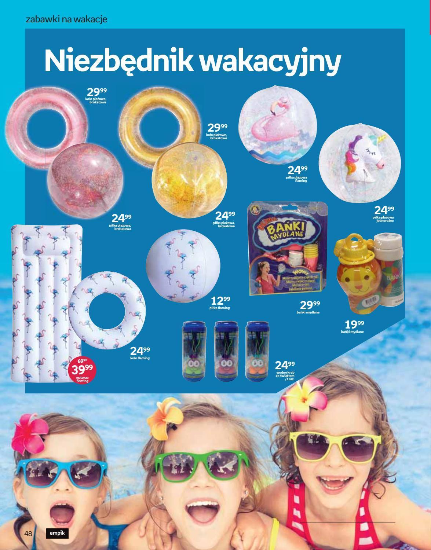 Gazetka promocyjna empik do 30/07/2019 str.48