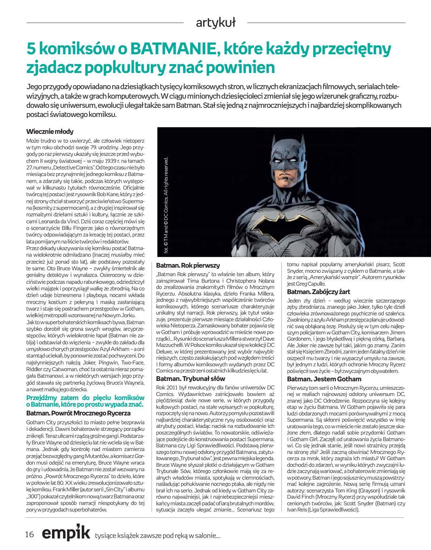 Gazetka promocyjna empik do 18/09/2018 str.16