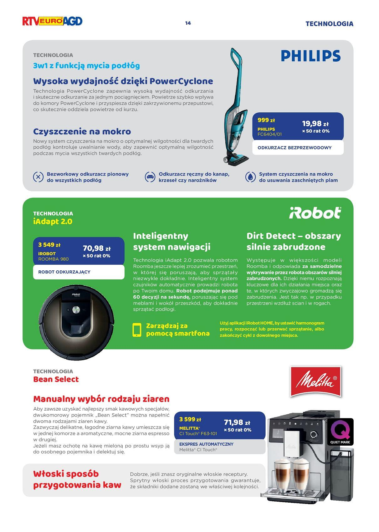 Gazetka promocyjna RTV Euro AGD do 17/09/2018 str.14
