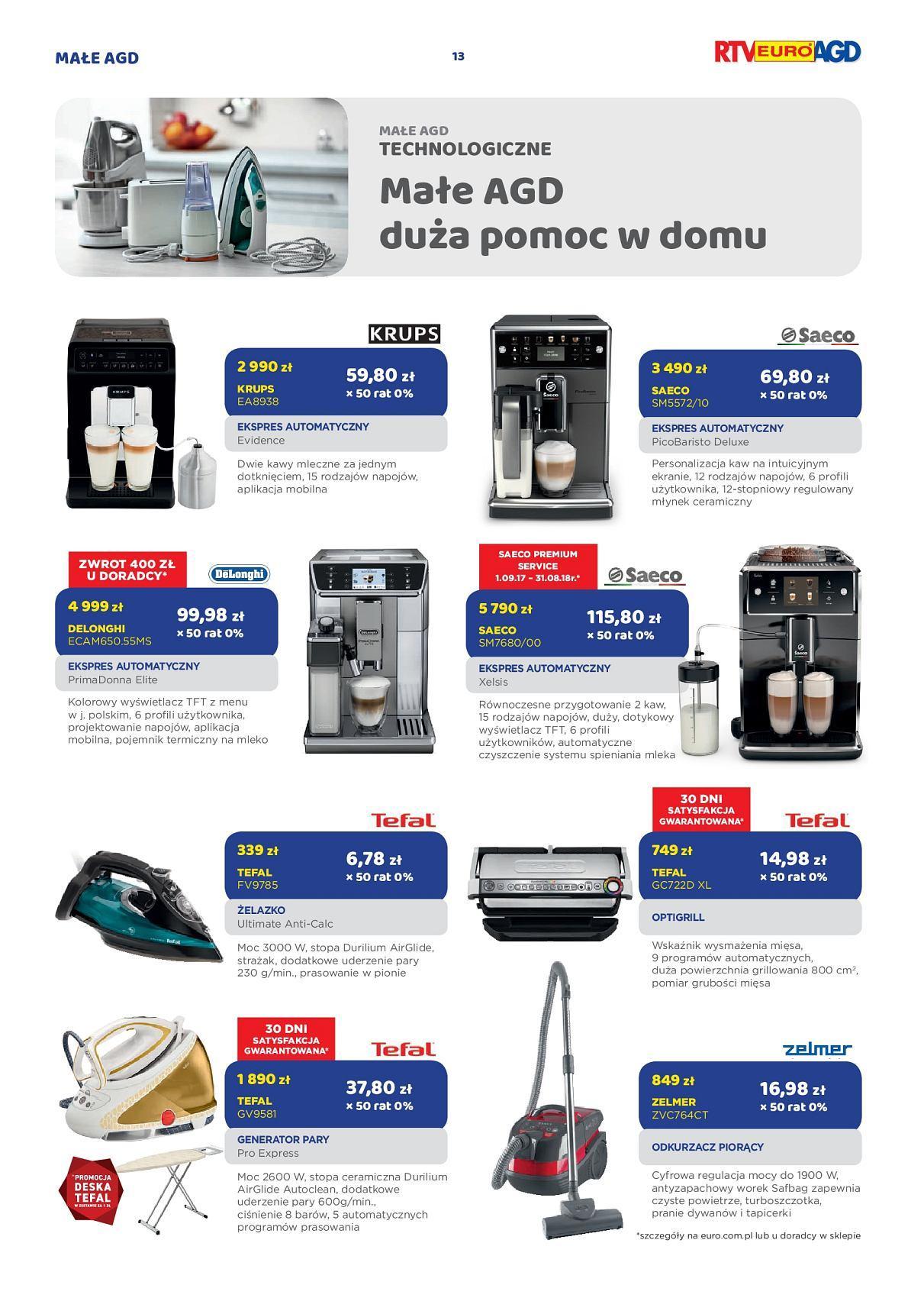 Gazetka promocyjna RTV Euro AGD do 17/09/2018 str.12