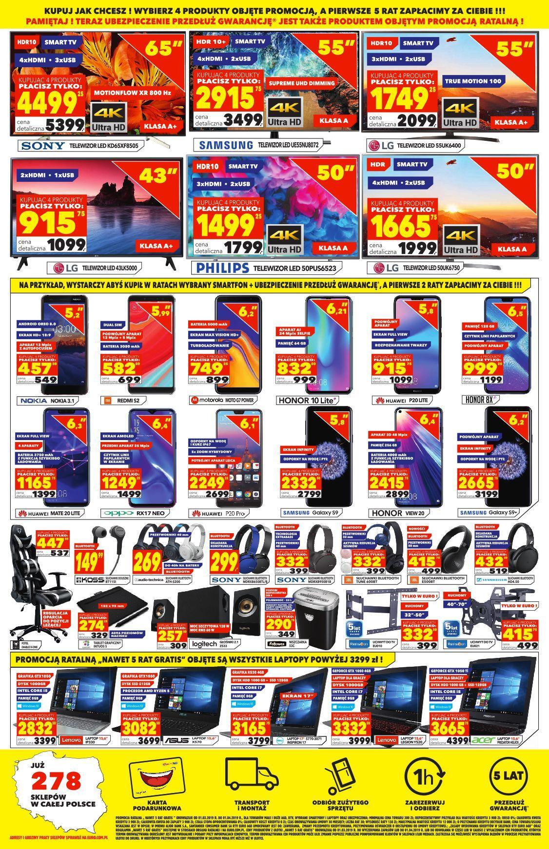 Gazetka promocyjna RTV Euro AGD do 01/04/2019 str.3