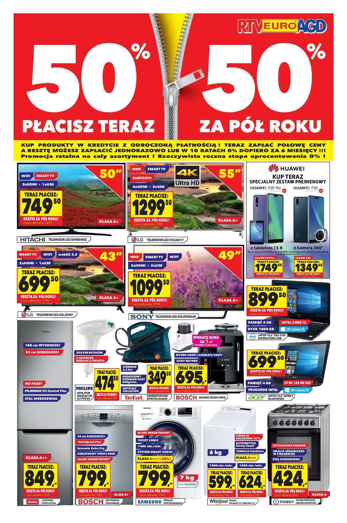 Gazetka promocyjna RTV Euro AGD do 02/05/2018 str.0
