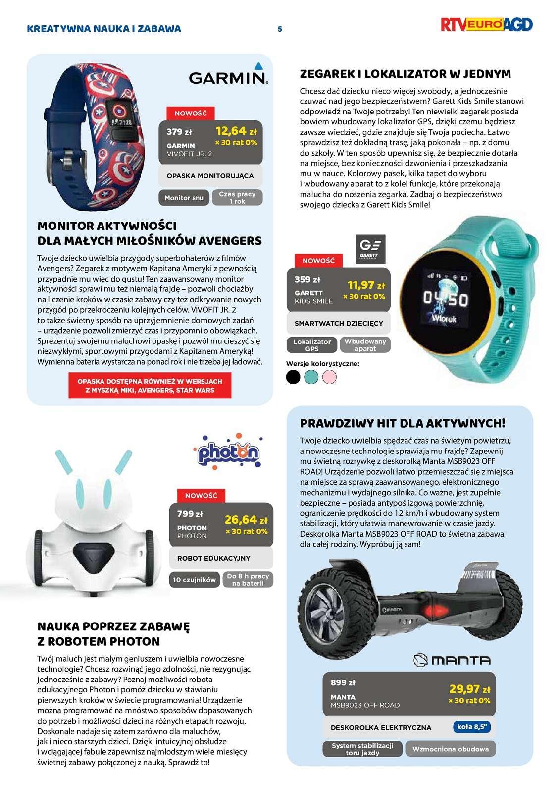Gazetka promocyjna RTV Euro AGD do 01/10/2018 str.4
