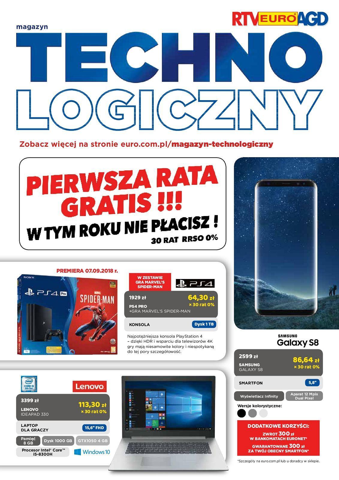 Gazetka promocyjna RTV Euro AGD do 01/10/2018 str.0
