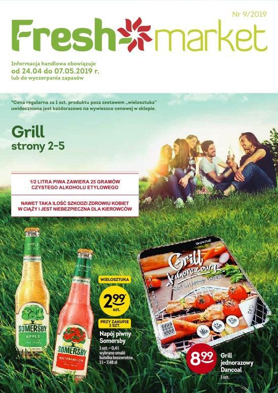 Gazetka promocyjna Freshmarket do 07/05/2019 str.0