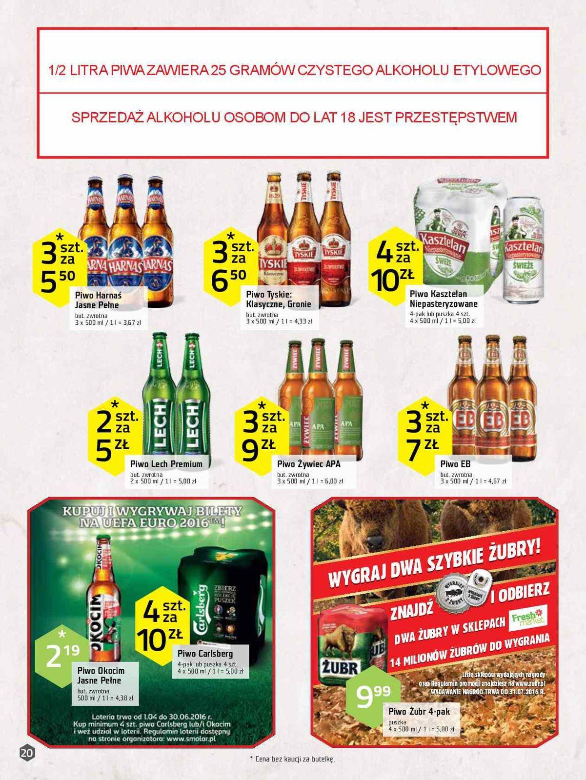 Gazetka promocyjna Freshmarket do 31/05/2016 str.19