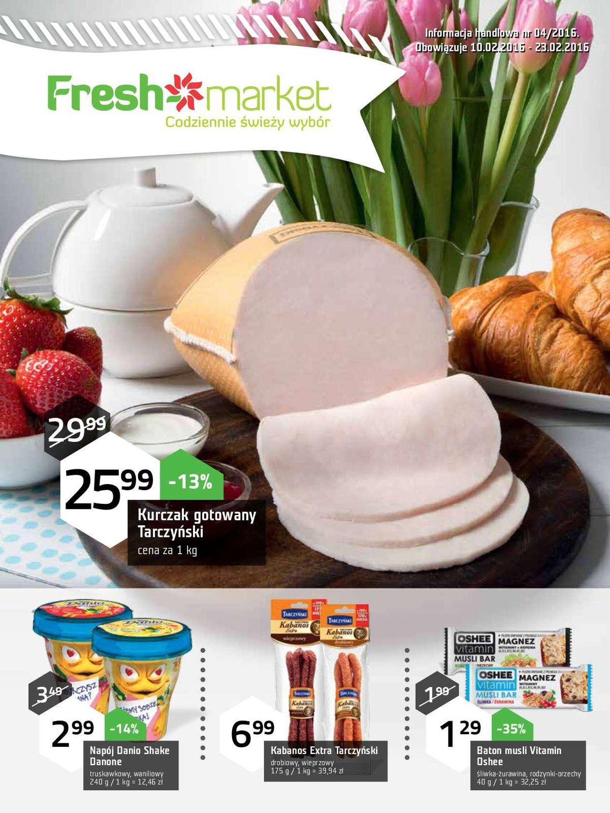 Gazetka promocyjna Freshmarket do 23/02/2016 str.0