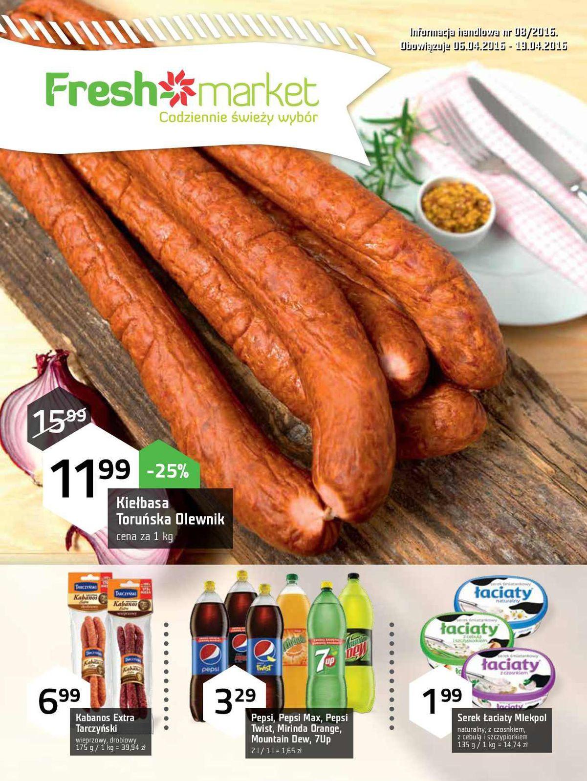 Gazetka promocyjna Freshmarket do 19/04/2016 str.0