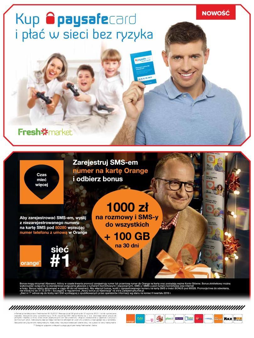Gazetka promocyjna Freshmarket do 10/01/2017 str.19