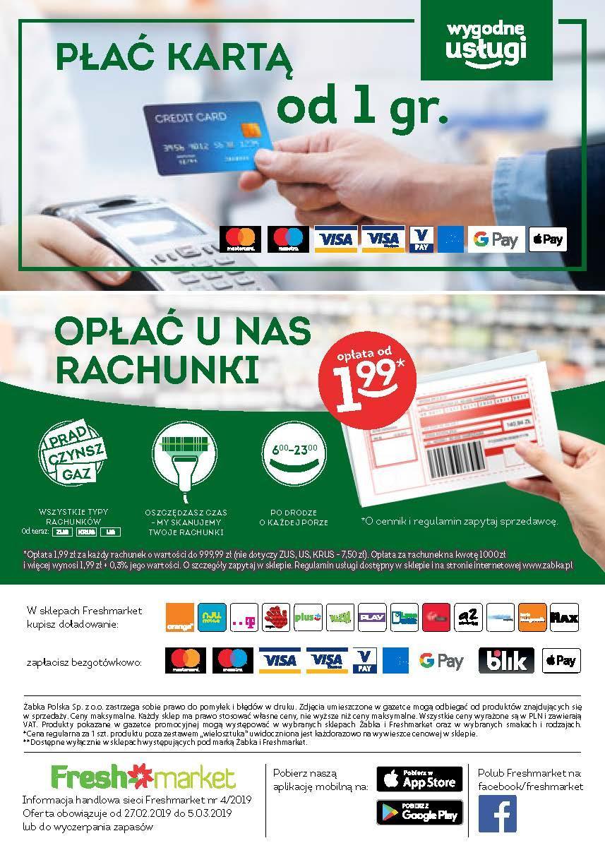 Gazetka promocyjna Freshmarket do 05/03/2019 str.31