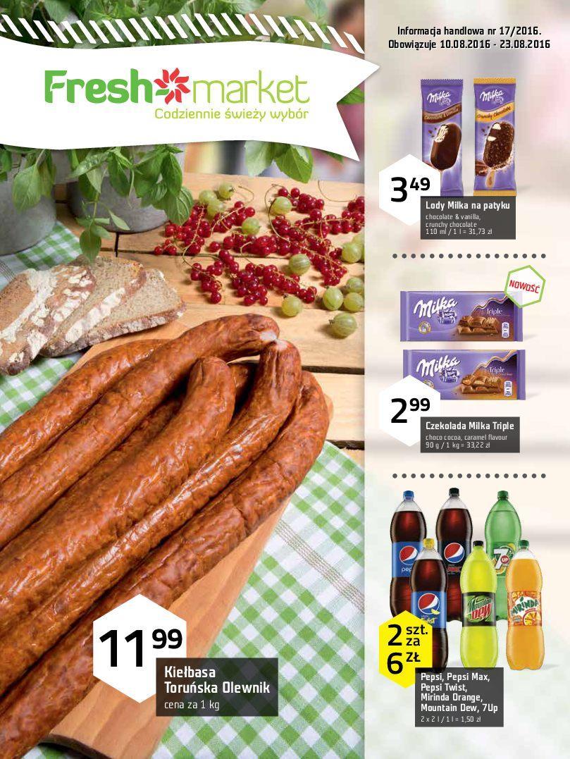 Gazetka promocyjna Freshmarket do 23/08/2016 str.0