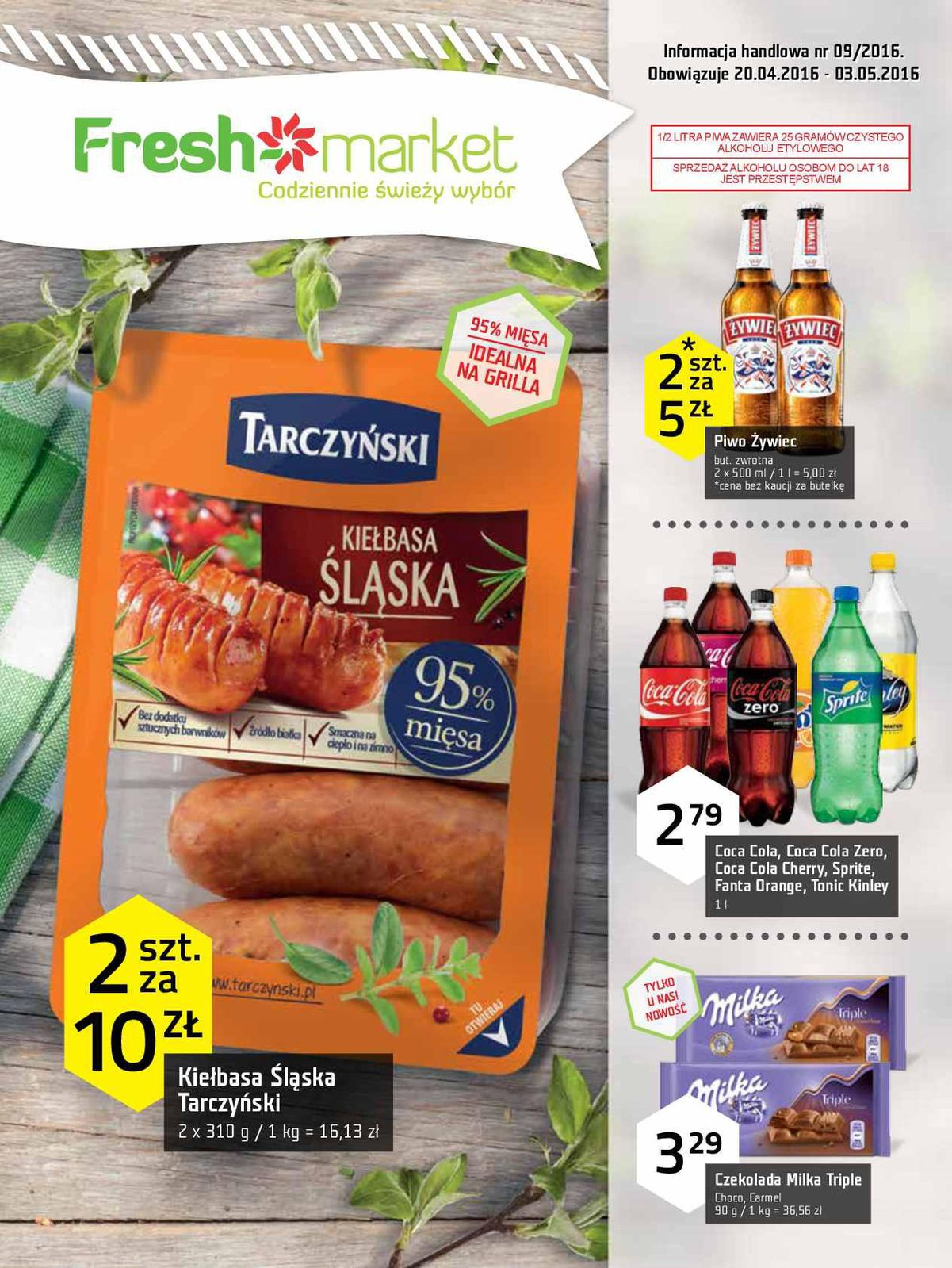 Gazetka promocyjna Freshmarket do 03/05/2016 str.0