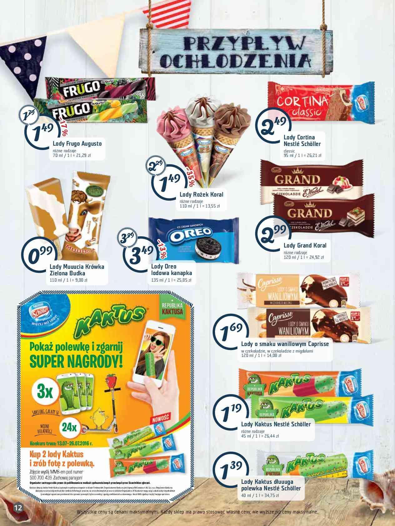 Gazetka promocyjna Freshmarket do 26/07/2016 str.11