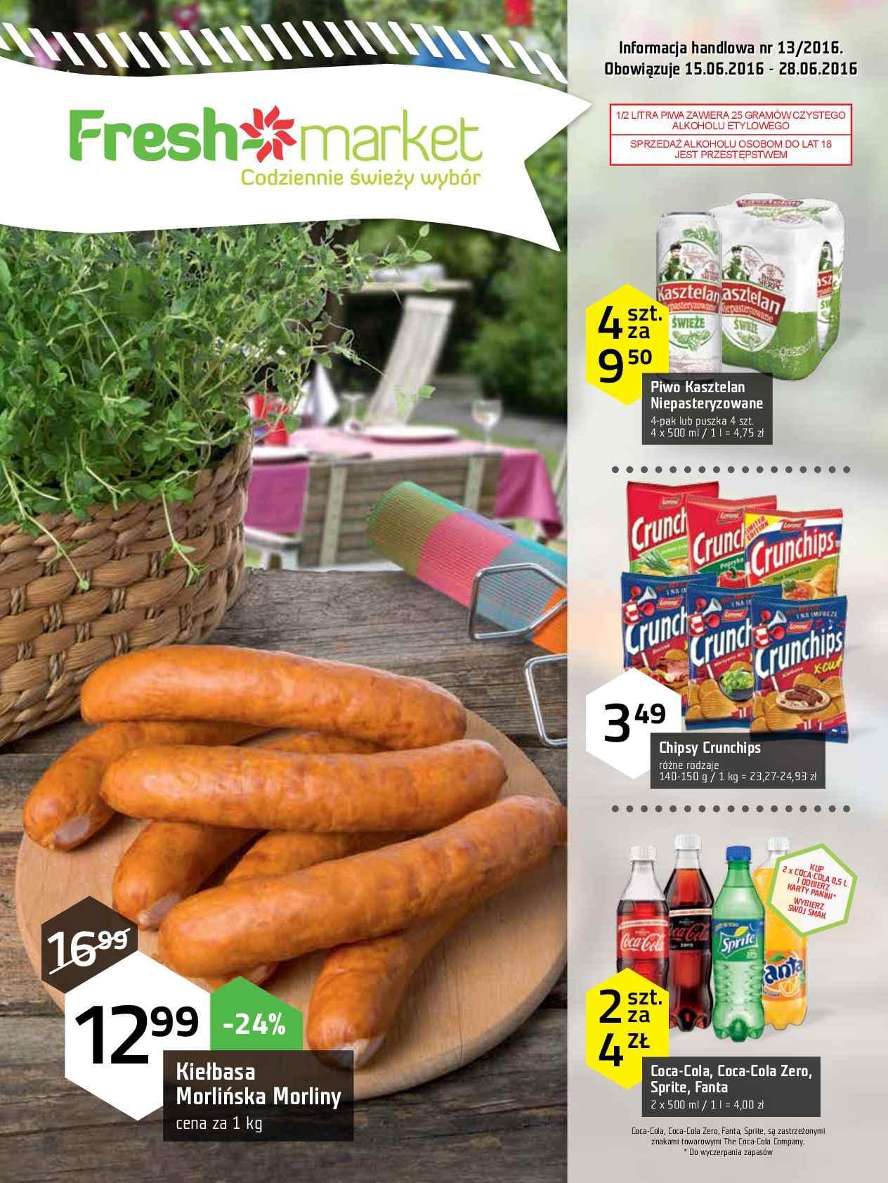 Gazetka promocyjna Freshmarket do 28/06/2016 str.0