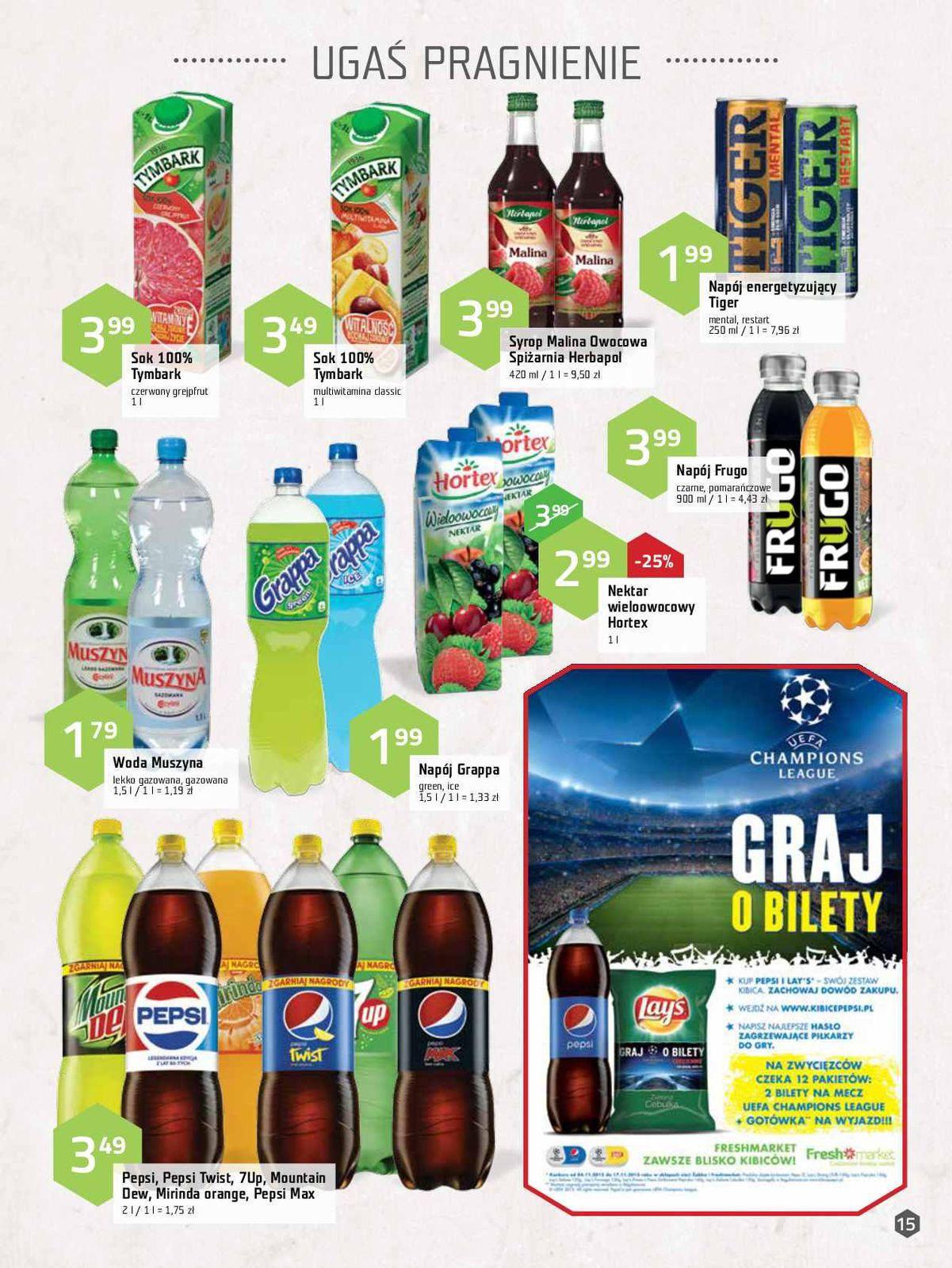 Gazetka promocyjna Freshmarket do 17/11/2015 str.14