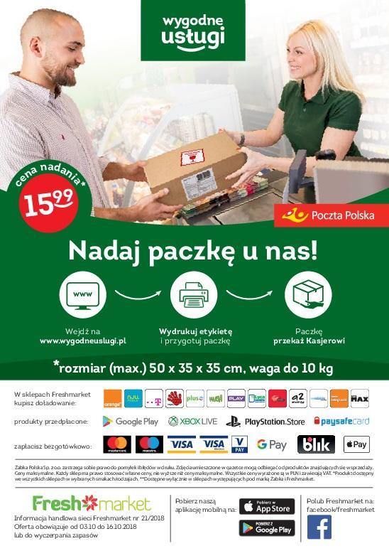Gazetka promocyjna Freshmarket do 30/10/2018 str.31