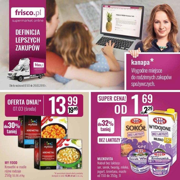 Gazetka promocyjna Frisco.pl do 20/03/2018 str.0