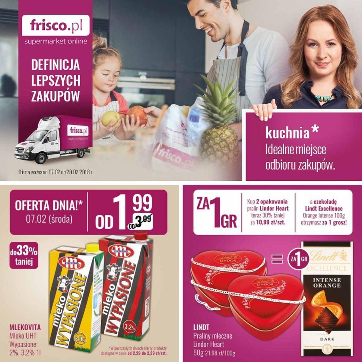 Gazetka promocyjna Frisco.pl do 20/02/2018 str.0