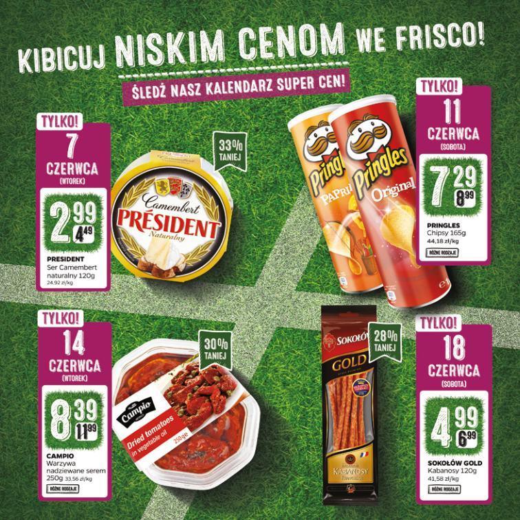 Gazetka promocyjna Frisco.pl do 19/06/2016 str.1
